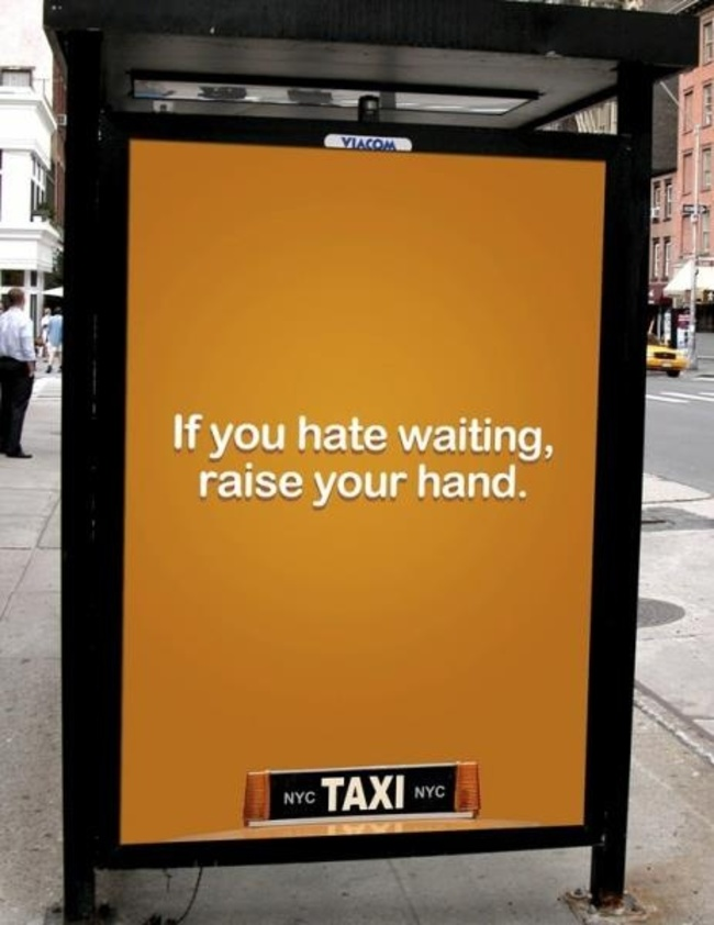 Taxi advertensie
