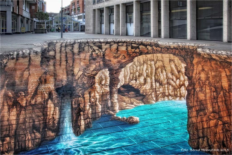 3D tekening rivier