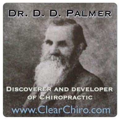 Dr. DD Palmer first chiropractor