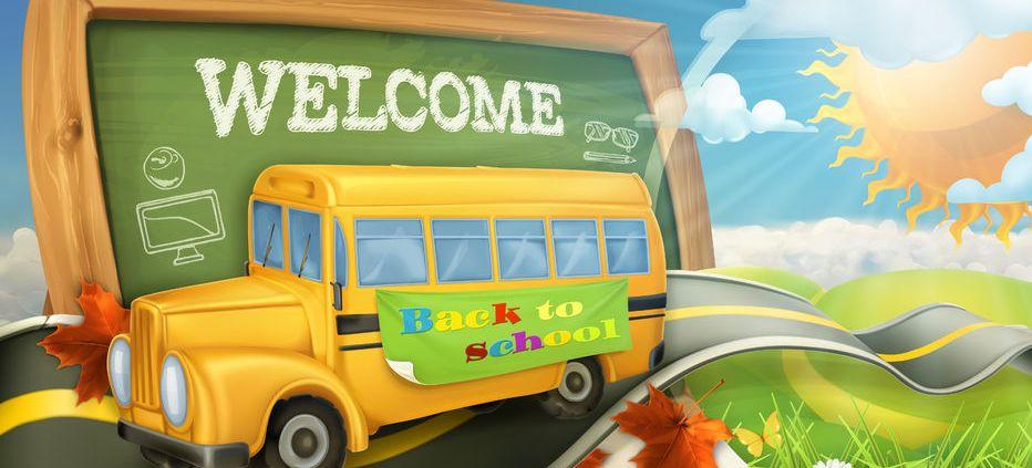 back to school, school bus, school zone, las vegas, nevada