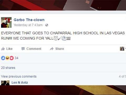 las vegas, clown, clowns