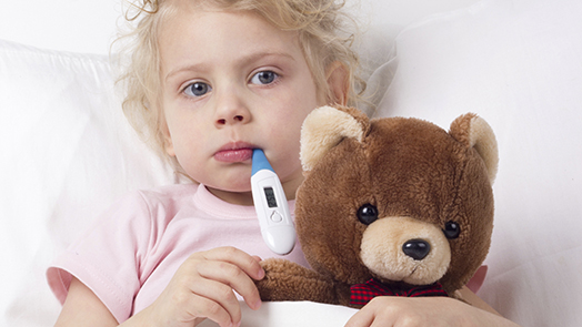 Image result for child with infections