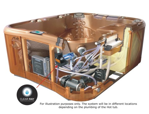 Hot Tubs Amp Spas Clearray Water Purification System Installation