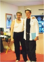 Sigung Richard Clear with Master Guy Savelli of Huc Chung Kuntao.