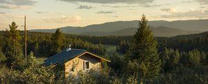 cabin meditation