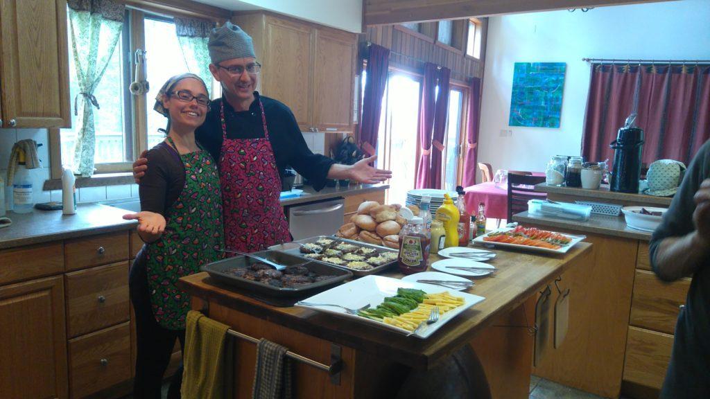 Meditation Centre Kitchen Food
