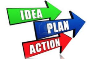 Idea plan actino words
