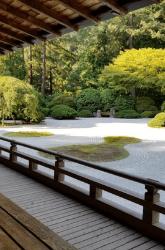 Meditation Hall Garden Walking Veranda