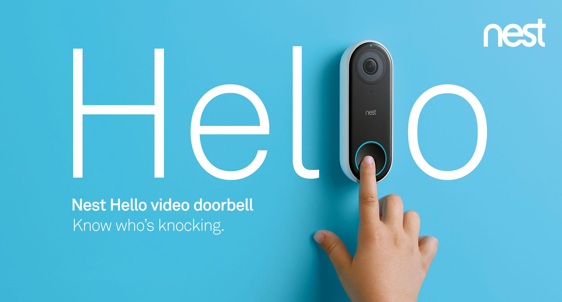 Nest Hello video doorbell pro installer
