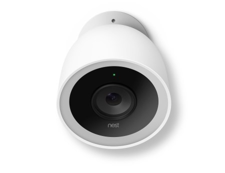 Nest Cam IQ wall mounted