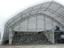 Recycling Fabric Building