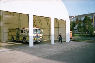 3 door bay for service vehicles