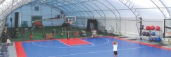 Training Facility in a fabric structure