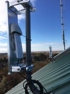 Sector antennas on the rooftop