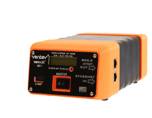 The battery pack from Ventev.