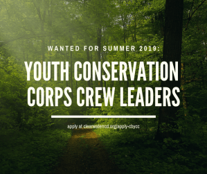 Request for Qualifications: CBYCC Crew Leaders