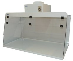 Ducted Fume Hood 18 in. High Clearance - Cleatech LLC