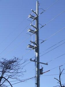 "69 kV ""Quick Install"" vertical break switch"