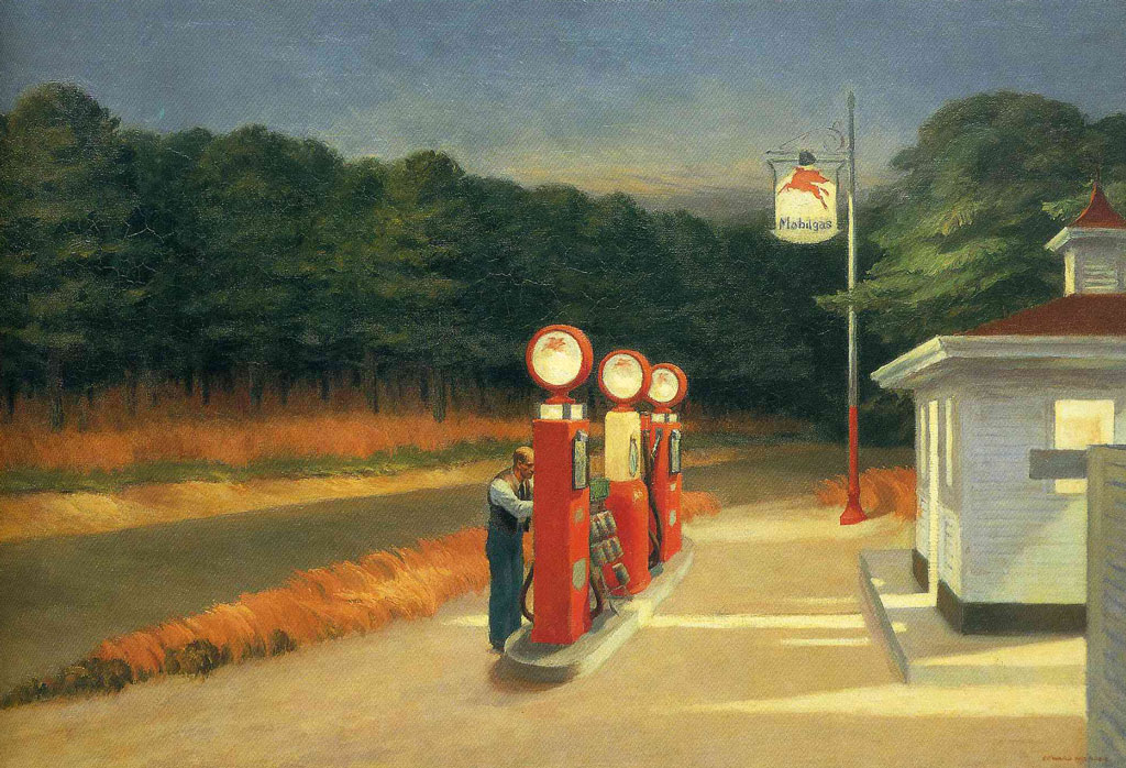 The-Gas-Station-by-Edward-Hopper