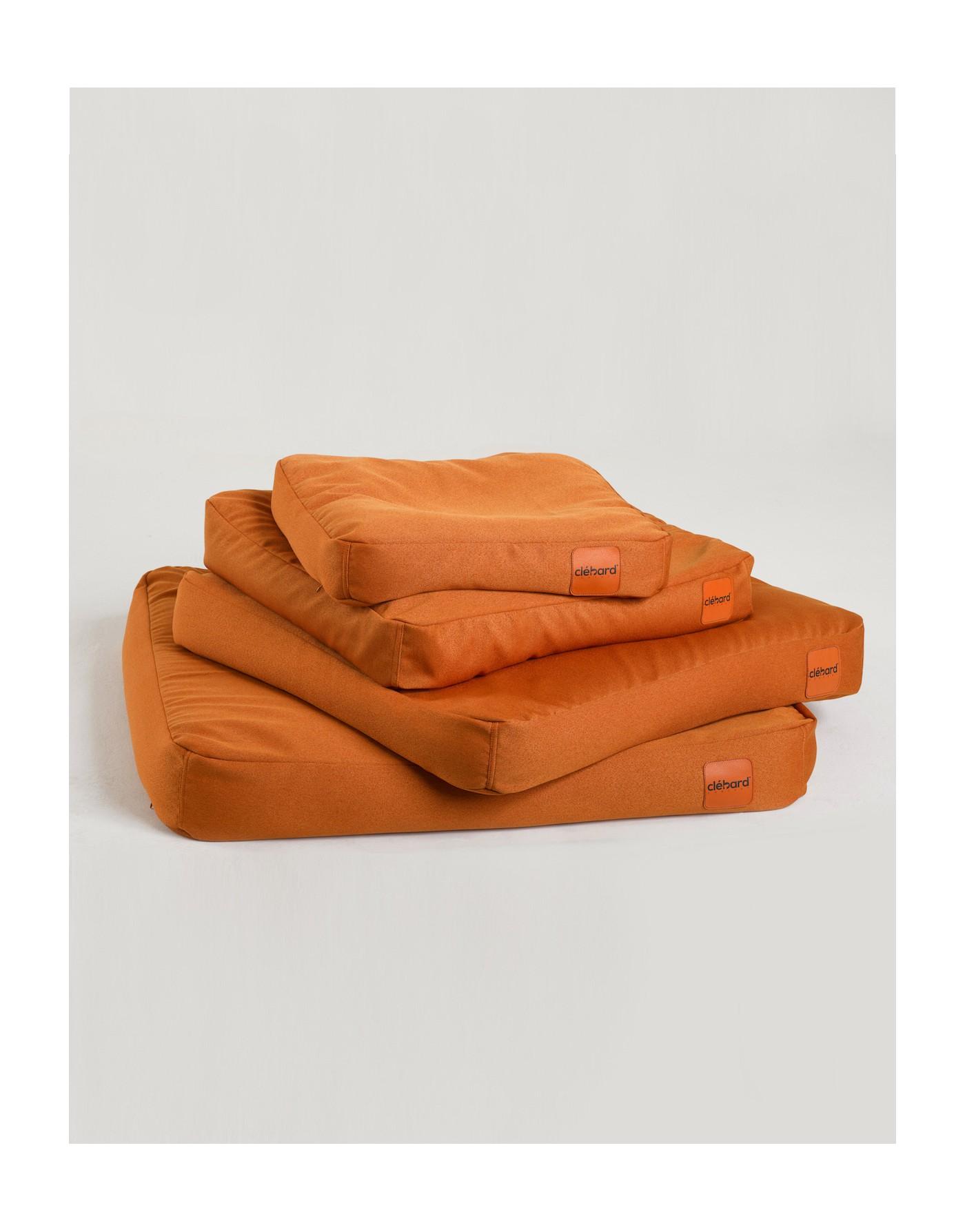 dog s cushion design sofa orange