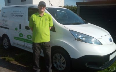 Running a successful delivery service using an EV