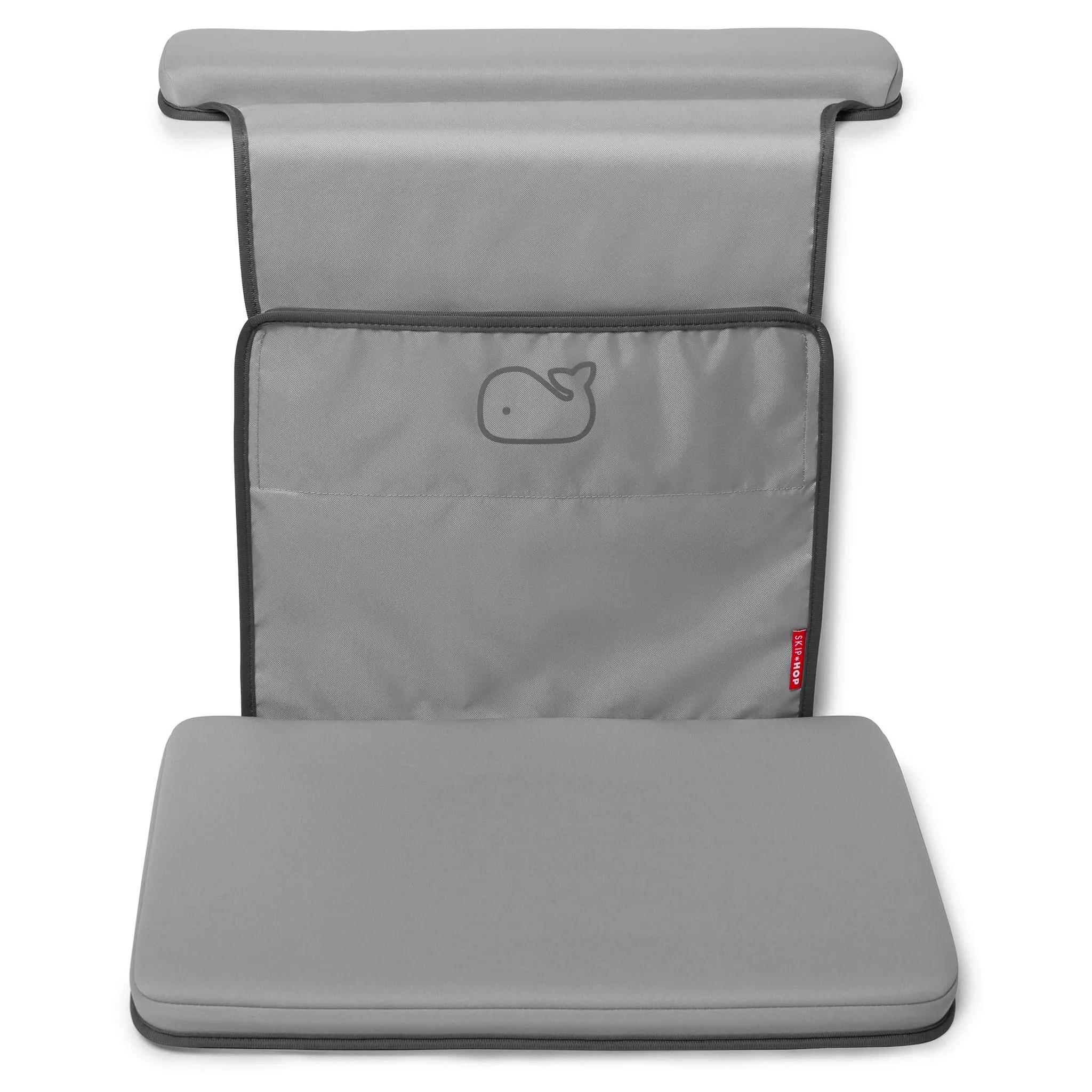 coussin confort pour le bain gris skip hop clement