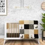 Literie La Libellule 4 Piece Crib Bedding Set Boho Clement