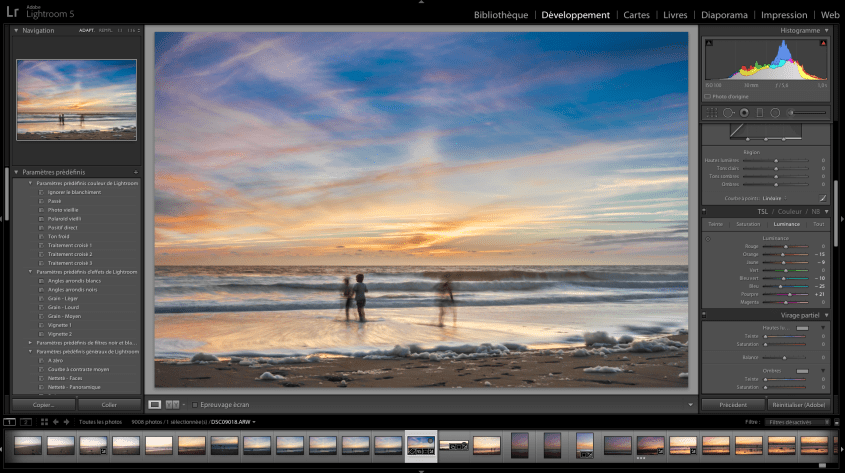 La retouche de base avec Lightroom