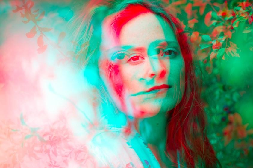 Portrait coloré