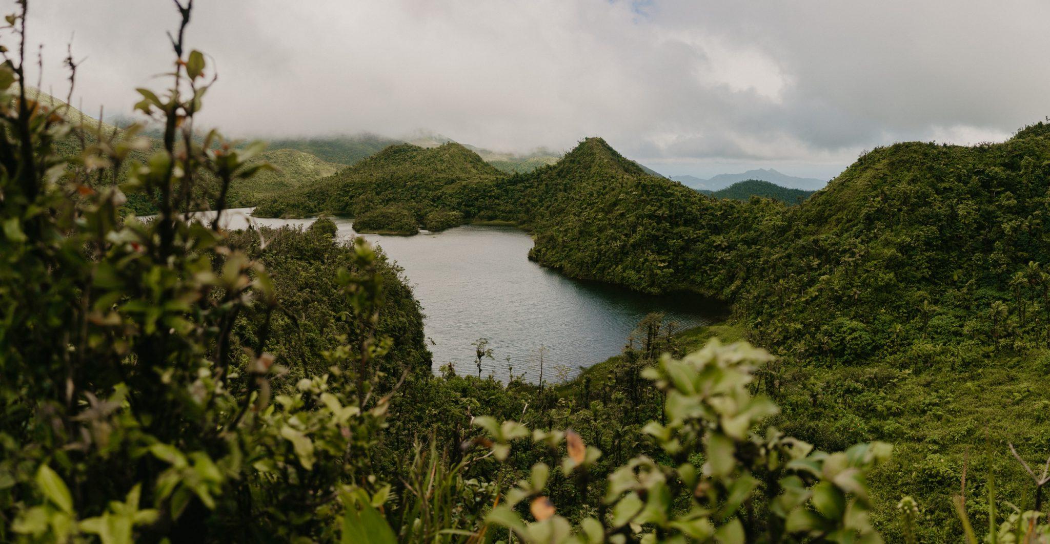 Freshwater lake, Dominique