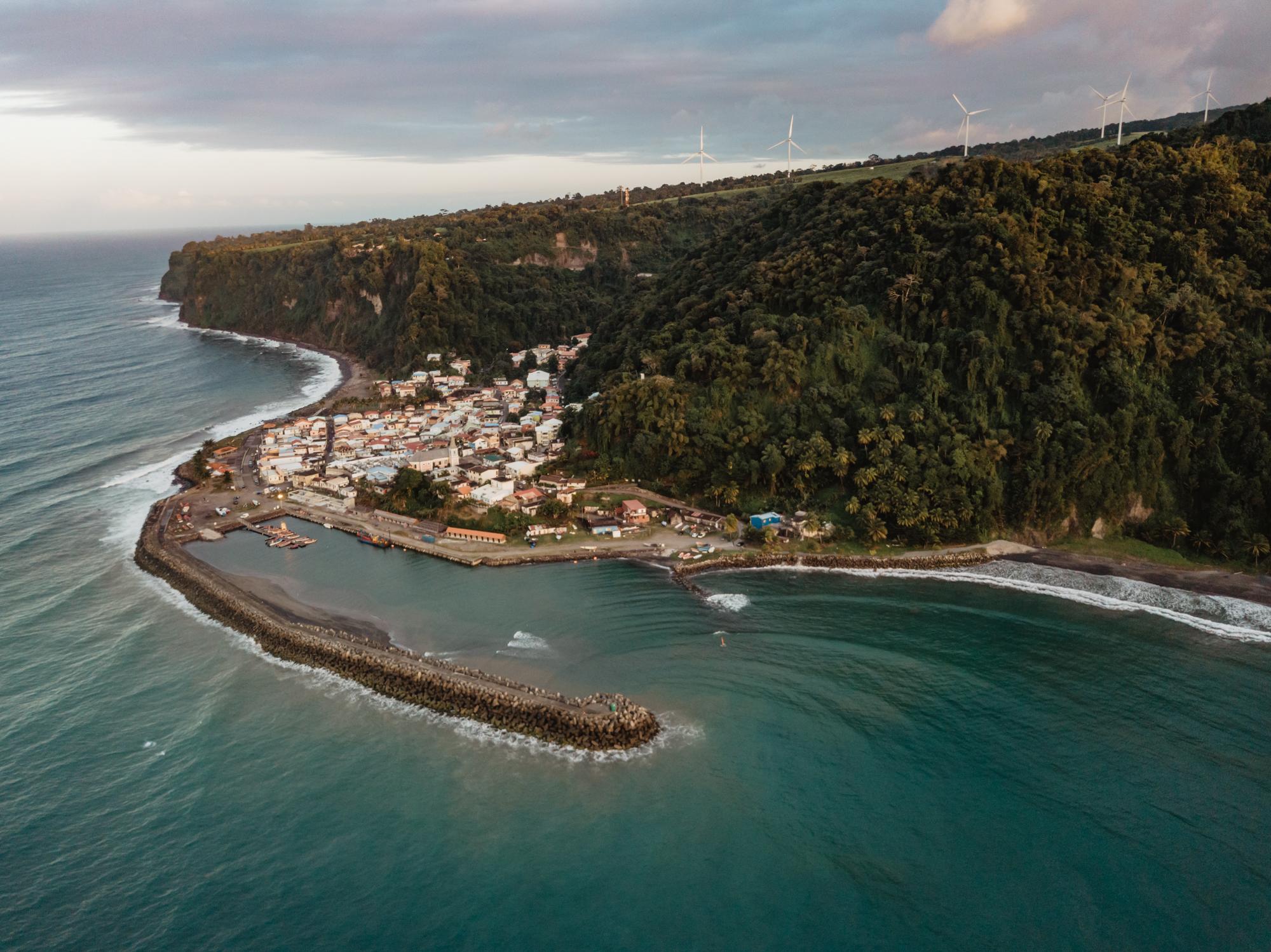 Grand Rivière, Martinique