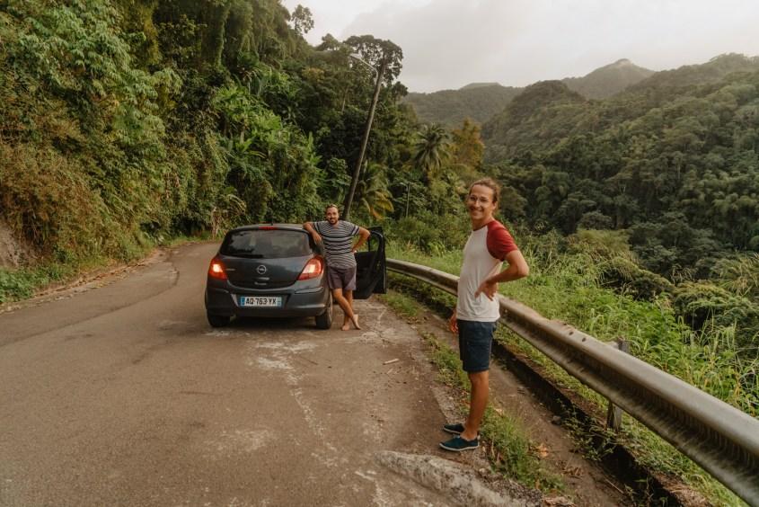 Sur la route pour Grand Rivière, Martinique