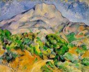 Paul Cezanne, Mont Sainte-Victoire