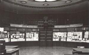 Sala ellittica, Kulturwissenschaftliche Bibliothek Warburg, Heilwigstraße, Hamburg