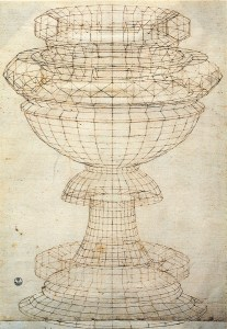 Paolo Uccello, Studio di Vaso in prospettiva