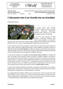 thumbnail of W-Editoriale-1-20-L'olocausto-non-è-un-ricordo-ma-va-ricordato