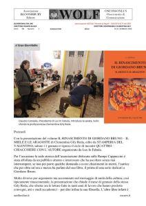thumbnail of Eventi – Il rinascimento di Giordano Bruno