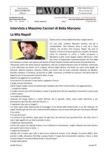 thumbnail of W Cacciari intervista