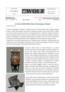 thumbnail of Museo Archeologico di Napoli MOSTRA GLADIATORI