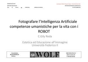 thumbnail of Fotografare l'Intelligenza Artificiale_competenze umanistiche per la vita con i ROBOT