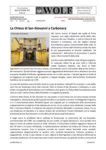 thumbnail of La Chiesa di San Giovanni a Carbonara