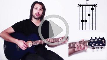 Apprendre guitare vidéo en ligne facile