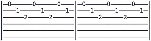arpèges doigts médiator guitare 1