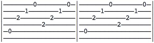 arpèges doigts médiator guitare 2