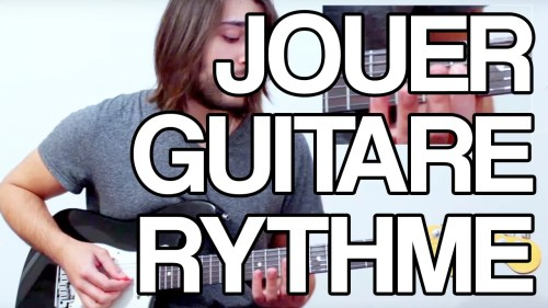 Jouer guitare rythme améliorer placement rythmique riff funk tuto guitare cours
