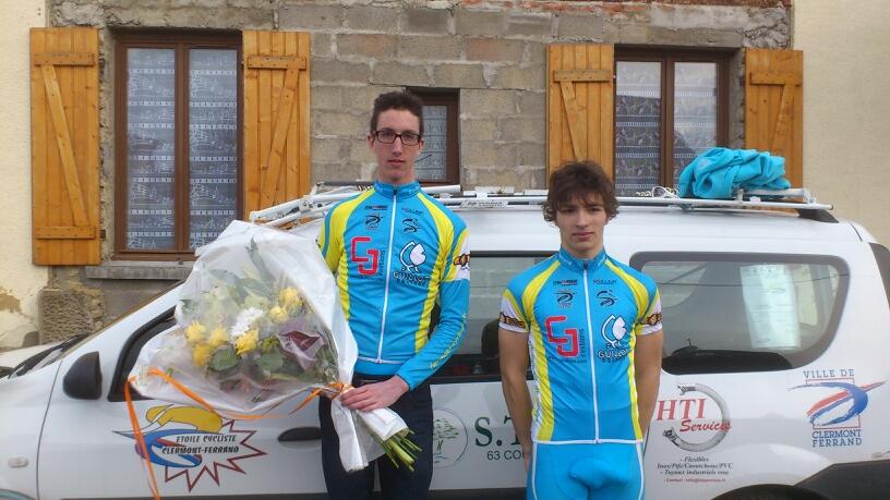 Damien Morandini vainqueur à St léger le petit