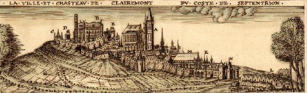 La ville et château de coste de septentrion