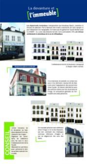 La devanture et l'immeuble