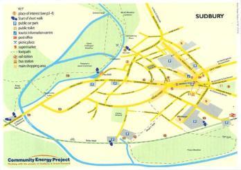 Carte de Sudbury