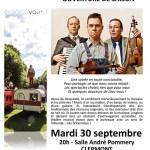 The New Rope String Band - Ouverture de saison du CAL, mardi 30 septembre 2014 - Clermont (Oise)